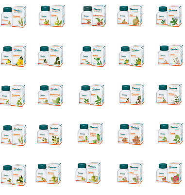 Himalaya Pure Herbals Wellness Cystone Diabecon Diabecon DS Diarex Gasex Tablets