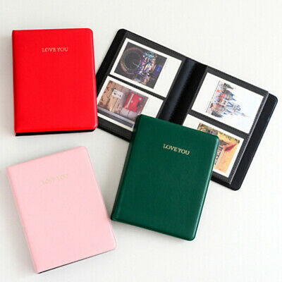 64 Pockets LOVE YOU Photo Album Boxes for Fujifilm Polaroid Instax Mini Salable