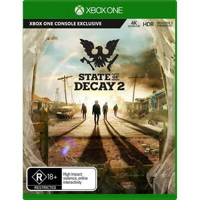 State Of Decay 2 XBOX ONE GAME BRAND NEW FREE POSTAGE