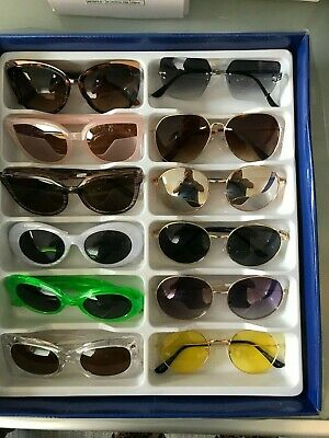 Job Lot 24 pairs of assorted sunglasses - Car Boot - Resale - Wholesale -REF326