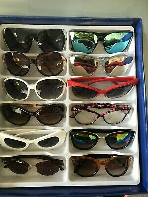 Job Lot 24 pairs of assorted sunglasses - Car Boot - Resale - Wholesale -REF328