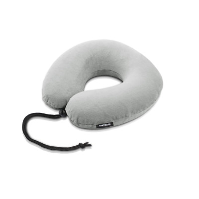 Swiss Lifetrons Memory Foam Travel Pillow Compact (FG-9105N-GY)