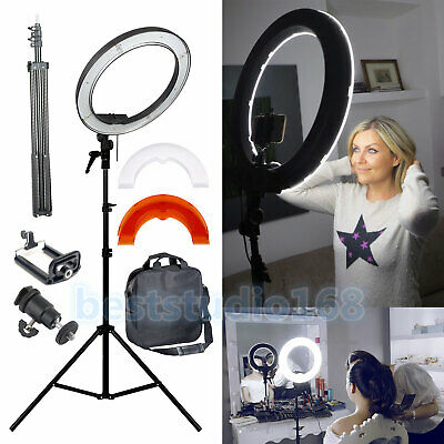 "Dimmbare 35W 14"" 240PCS LED FotoStudio-Ring-Licht Schönheit bilden Selfie Video"