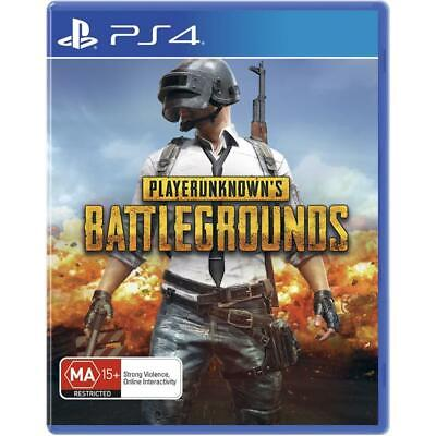 PUBG PlayerUnknown's Battlegrounds PlayStation 4 PS4 GAME BRAND NEW FREE POSTAGE