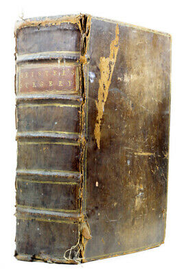 1757 Old Antique 18th Century Heister Surgery 6th Edition 40 Plates Medical Rare