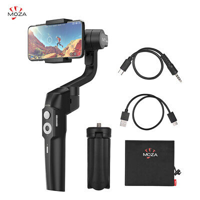 MOZA Mini Foldable Handheld 3-Axis Smartphone Gimbal Stabilizer Object Tr X S7B6