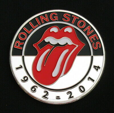 The Rolling Stones Logo Rock Music Silver Coin Fans Collectibles