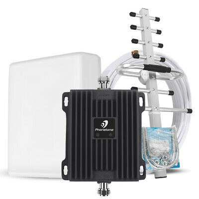 2G GSM 3G LTE 4G Dual Band 850MHz 1700/2100MHz Signal Booster Repeater for Data