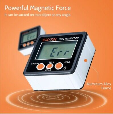 Accurate Digital Protractor Bevel Box Angle Gauge Measurement Electronic 0-360°