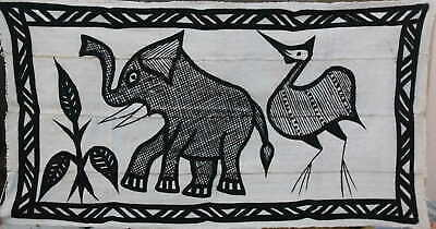 Crafts African Canvas - Korhogo Middle