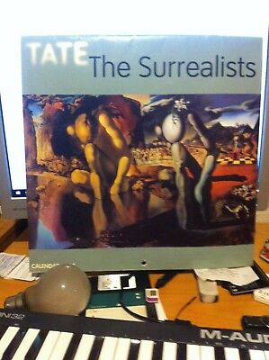 "Flame Tree Publishing: ""The Surrealists"" Calendar 2004. Illustrated."