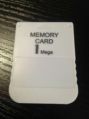 1Mb Memory Card For Sony Playstation 1 Ps1 Psx 15 Blocks