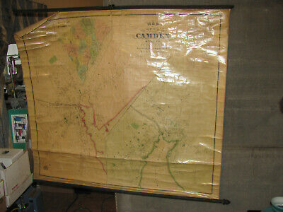 1875 Roe and Colby Map of Camden and Rockport, Maine