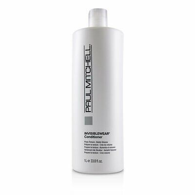 Paul Mitchell Invisiblewear Conditioner (Preps Texture - Builds Volume) 1000ml