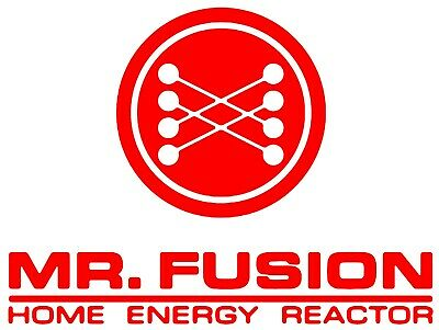 Back To The Future Vinyl Decal Car Sticker - Mr Fusion
