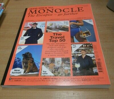 Monocle magazine Travel Annual #1 Spring/Summer 2019 The Escapist: Top 50 & more