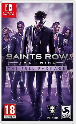 Saints Row The Third : The Full Package (Nintendo Switch) New & Sealed UK PAL