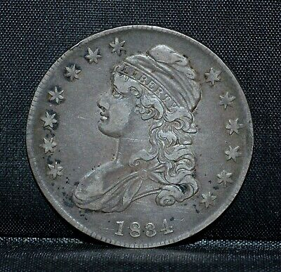 1834 Capped Bust Half Dollar ✪ Xf Extra Fine ✪ 50C Silver Small Date ◢Trusted◣