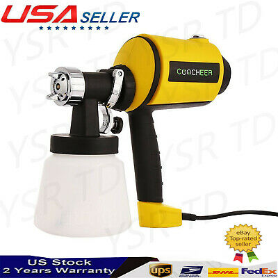 Electric Handheld Paint Sprayer Wagner Painting Gun Airless Indoor Outdoor House