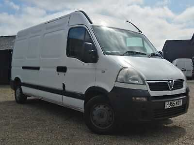 Vauxhall Movano Lwb Diesel Van 05 Exceptional Condition 76000M Drives Superbly !