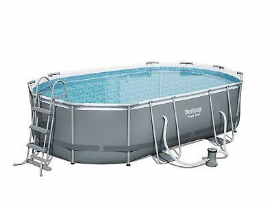 Piscina Fuoriterra Bestway Power Steel Ovale 488X305X107 Cm - 56448 -