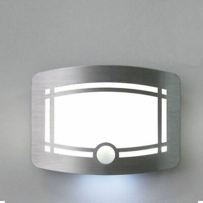 10 LED Motion Activated LED Wireless Wall Sconce Light Path Hallway Staircase
