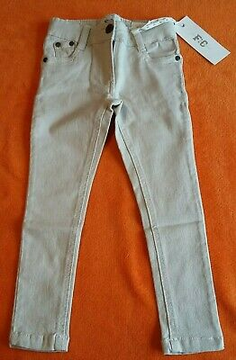 Girls French connection Cream Skinny Jeans Age 3-4 years