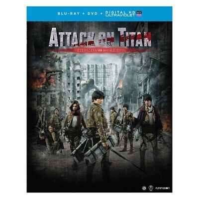 Funimation-Uni Dist Corp Brfn07276 Attack On Titan The Movie-Part 2 (Blu Ray/...