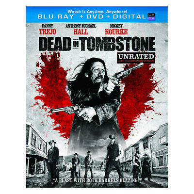 Uni Dist Corp Mca Br63119903 Dead In Tombstone Blu Ray/Dvd Combo W/Digital Co...