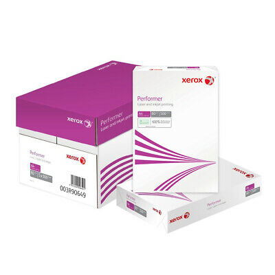 Xerox Performer 80gsm Plain A4 Copy Paper Ream Box Inkjet Laser Printer