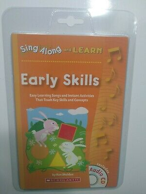Sing Along And Learn.  Early Skills Ken Sheldon (Scholastic) Includes Cd.