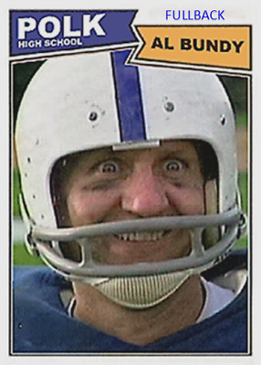 Ed O'neill Al Bundy Fullback Polk High School Aceo Football Card E