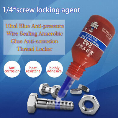 Thread Anti-corrosion Anti-pressure Blue 242 Glue Anaerobic Screw Lock Adhesive