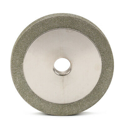 """3 Inch Diamond Grinding Wheel for Carbide Cutter File Grinder 1/2"""" Bore 150 Grit"""