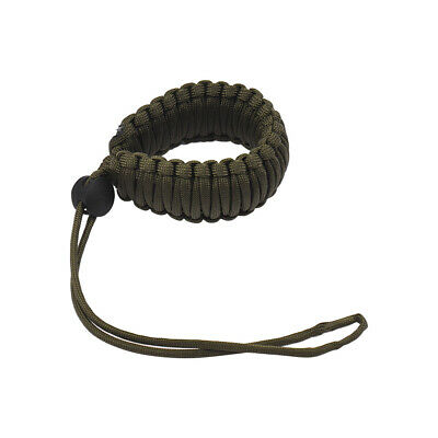 Adjustable Braided Paracord Camera Wrist Strap Lanyard for Canon Nikon  W2S3
