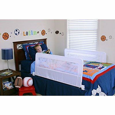 Swing Down Double Sided Bed Rail Guard, With Reinforced Anchor Safety System 2