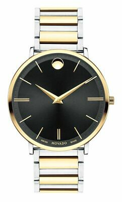New!!! Men's Movado Ultra Slim Watch - 0607169 - Original Box and Warranty!!!