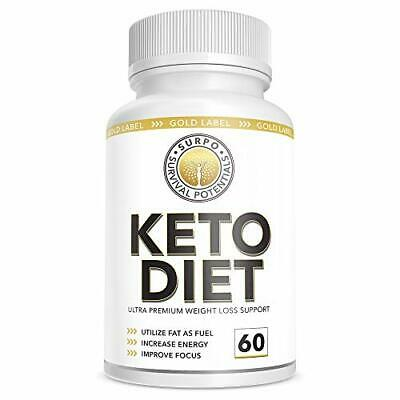 Keto Diet Pills.Supplement for Weight Loss and Easy Transition Into Ketosis. 60