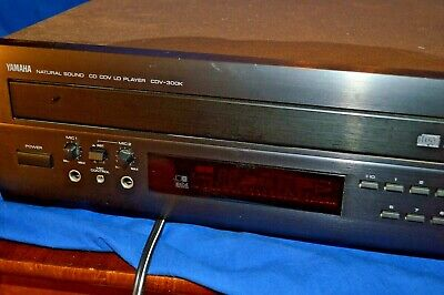 Yamaha CDV-300K Natural Sound CD CDV LD Laser Disc Video Karaoke Player