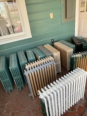 Antique Cast Iron Steam Radiators~14 Fin~8 Available~This Sale Is For One