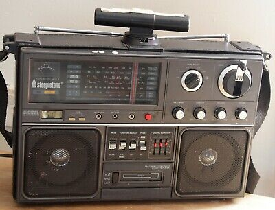 STEEPLETONE Multi Band Stereo Radio/Cassette Receiver MBR10 LW, MW, SW2,SW1,FM