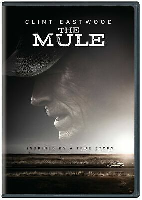 The Mule - DVD - 2018 - FAST SHIPPING - CLINT EASTWOOD!