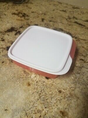 Tupperware #7503 Lunch It 3 Section Divided Storage Container And Lid