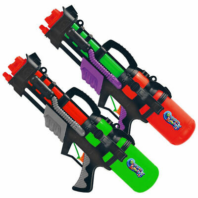 2x16''Water Gun Pump Action Pistol Outdoor Shoot Blaster Squirt Soaker Kids Toy