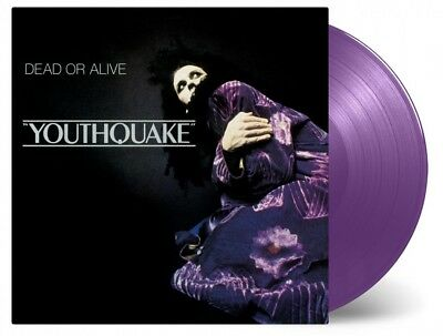 Dead Or Alive - Youthquake 180g PURPLE COLOURED vinyl LP NEW/SEALED