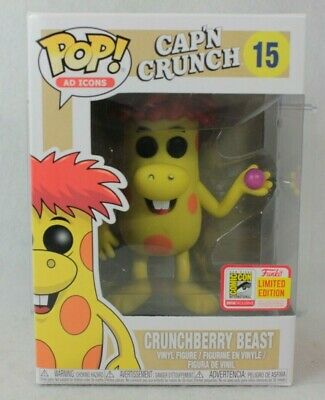 Funko Pop SDCC Exclusive CRUNCHBERRY BEAST Vinyl Figure 15 Ad Icons Cereal