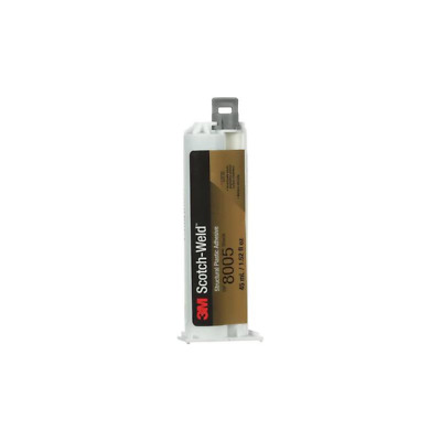 3M™ Scotch-Weld™ Structural Plastic Adhesive DP8005 Black, 45 mL Duo-Pak