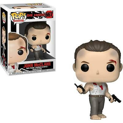 Die Hard #667 - John McClane - Funko Pop! Movies (Brand New)
