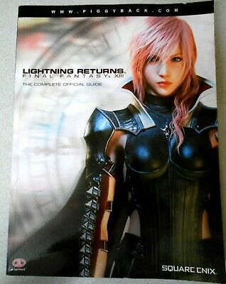Lightning Returns - Final Fantasy Xiii - Complete Official Guide Book, Vgc