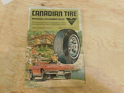 """Canadian Tire Corp. 1970 Spring & Summer"""" Catalogue"""